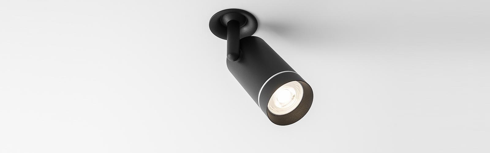 Fenos LED Lighting Recessed Adjustable Aro RA