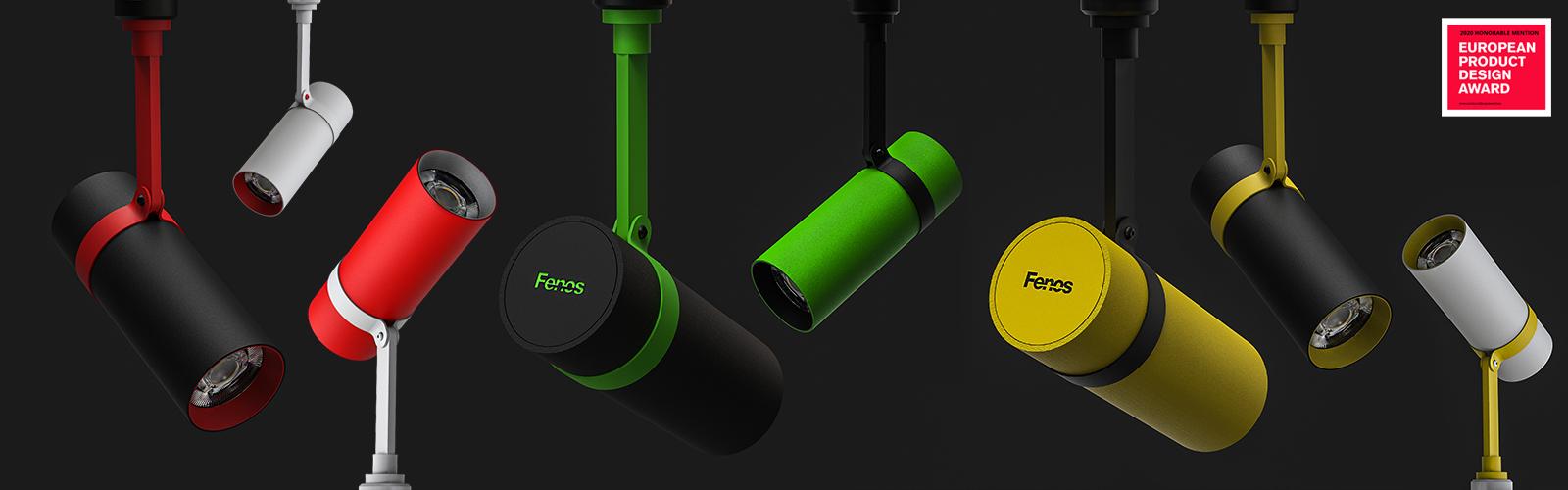 Fenos LED Lighting Track light Belta Mini Color Banner