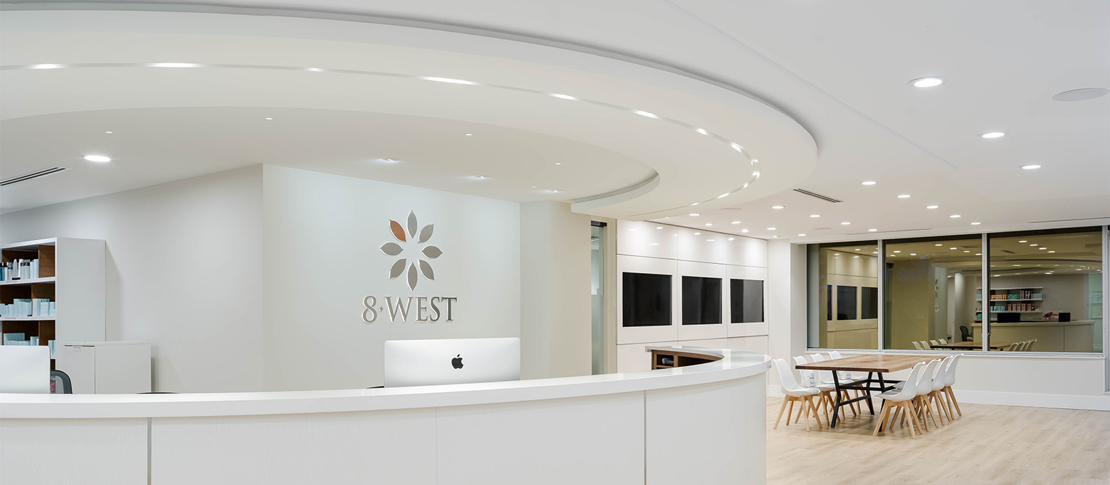 Fenos LED Lighting Project Office 8WestWeb Banner