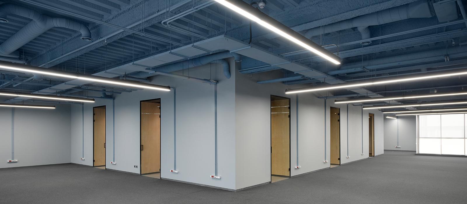 Fenos LED Lighting Project Office Café Bazzar Banner
