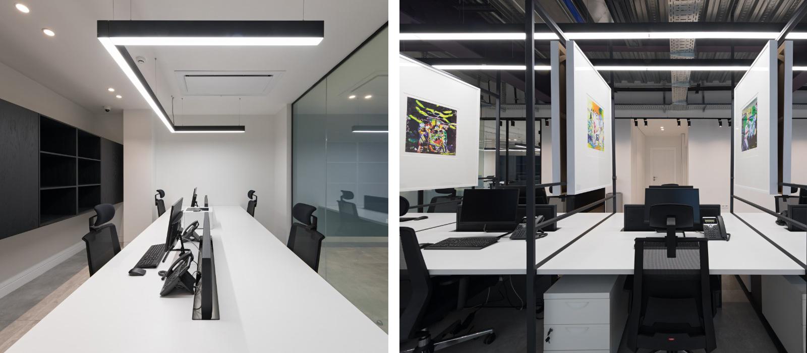 Fenos LED Lighting Project Sabadgardan Office Banner
