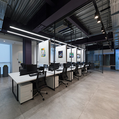 Fenos LED Lighting Project Sabadgardan Office Featured